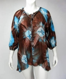 Blouse Dakota (16-2896 / turqbrownsin)