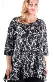 """Shirt """"INCA"""" (01-3889) bwpr"""