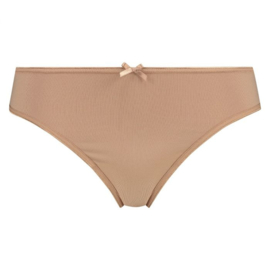 RJ PURE COLOR DAMES STRING EXTRA HOOG - Zand