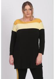 Tuniek 3 kleuren (C-8033) 076-Mellow Yellow *