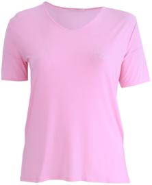 Shirt korte mouw (B-04) 005-Baby Roze