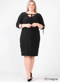 Bow Tie Strap Dress/Tunic (C-2103) 001-Zwart