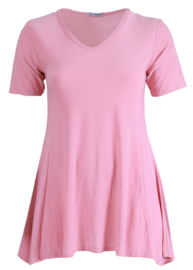 Tuniek Basic Belle (C-298) 075-Roze