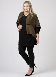 Poncho Wool Feel (M-9013) 031-Khaki