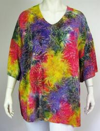 "Shirt ""INCA"" (03-3891) redpurpyelpr"