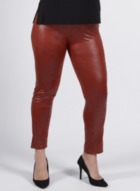 Legging Leather Look (F-20 LL) 028-Roest