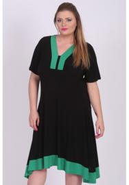 Tuniek/jurk 2t lang (C-9007) 001-058-Brazil Groen