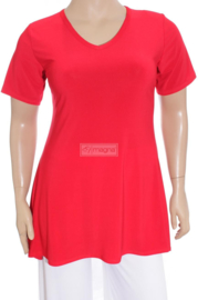 Tuniek Basic Belle (C-298) 015-Rood