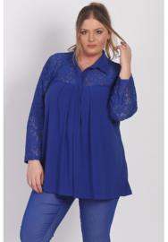 Shirt A-lijn met kant (B-8026) 060-Dr.Cobalt