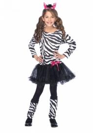 Zebra jurkje deluxe