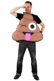 Emoticon kostuum poep