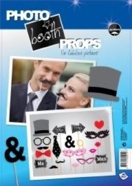 Huwelijk foto booth props