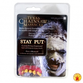 Texas chainsaw massacre teeth original
