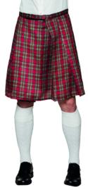 Schotse kilt rood heren
