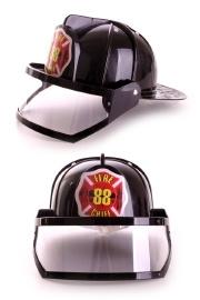 Brandweerhelm met vizier