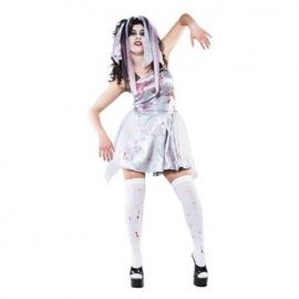 Bruid bloody zombie