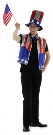 Amerikaanse feestkleding