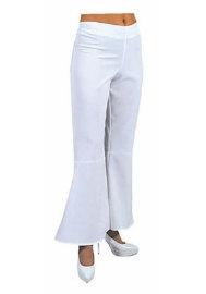Witte wijde hippie broek