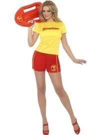 Baywatch lady kostuum