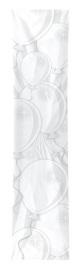 Witte ballonnen banner 300x60