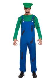 Luigi zombie kostuum