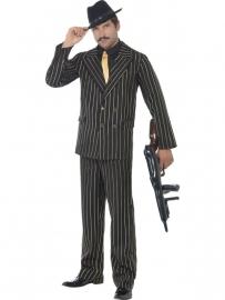 Kostuum maffia goldstripe