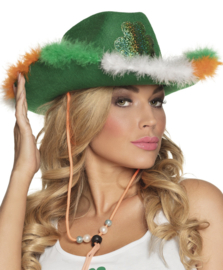 Hoed St. Patricks day ierse dame
