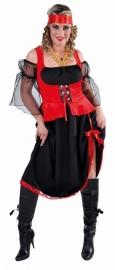 Piraten jurk deluxe