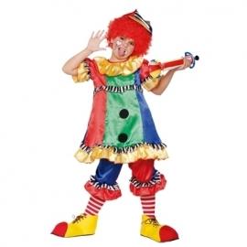 Clownsjurkje meisje easy