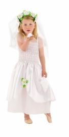 Bruidsjurkje meisje