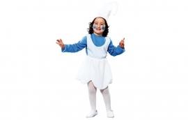 blauw kabouter meisje little