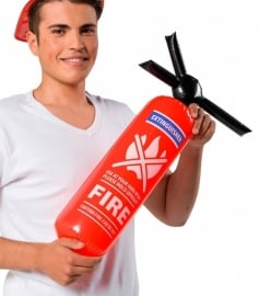 Opblaasbare brandweerspuit