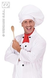 Grote chef-kok muts
