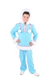 Eskimo kostuum jongen ice blue