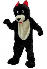 Promotie kostuum wolf
