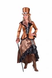 Steampunk jurk brons