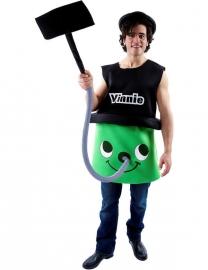Vinnie stofzuiger kostuum