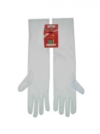 Handschoenen stretch wit