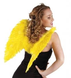 Vleugels veren geel
