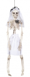 Skeleton bride hangdeco 41 cm