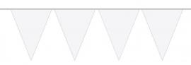 Vlaggenlijn brandvertragend wit 20 mtr