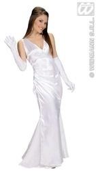Gala jurk Wit Prom
