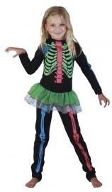 Skeleton Jumpsuit Neon