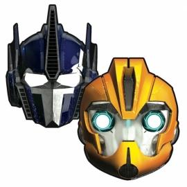 Kartonne Maskers Transformers