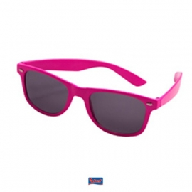 Neon pink Blues brother bril