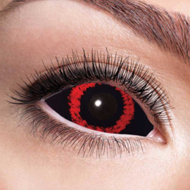 Party lenzen Sclera red demon