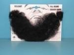 Volle baard zwart