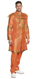 Sergeant pepper kostuum oranje