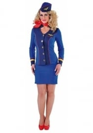Stewardess Sky Blue
