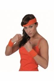 Oranje Zweetbandjes